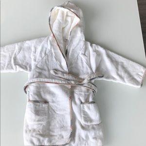 Burberry bathrobe - kids - 2T
